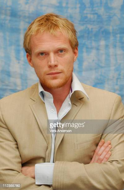 Paul Bettany during 'Master and Commander The Far Side of the World' Press Conference with Russell Crowe Peter Weir Paul Bettany and Max Perkis at...