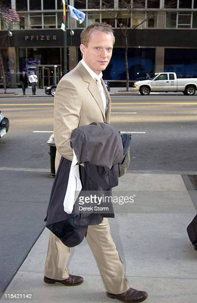 Paul Bettany during Paul Bettany Appears on the WB11 Morning News February 6 2006 at Daily News Building in New York City New York United States