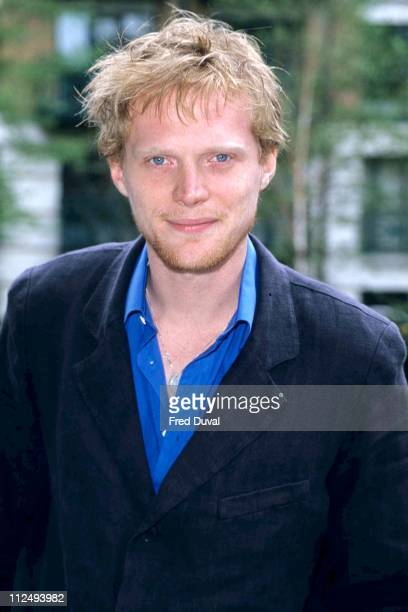 Paul Bettany during Paul Bettany 'Killer Net' Photocall April 1 1998 at London in London Great Britain