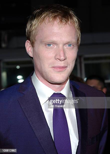 Paul Bettany during 'Wimbledon' World Premiere Arrivals at Academy of Motion Picture Arts and Science in Beverly Hills California United States