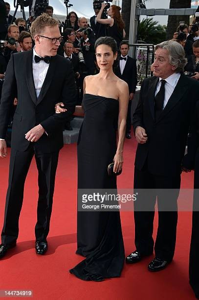 Paul Bettany Jennifer Connelly and Robert De Niro attend the Once Upon A Time Premiere during the 65th Annual Cannes Film Festival on May 18 2012 in...