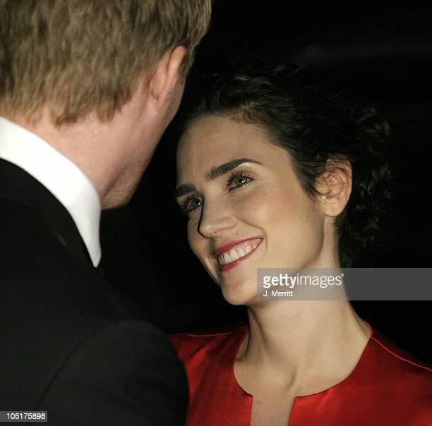 Paul Bettany Jennifer Connelly during 'Master And Commander The Far Side Of The World' Los Angeles Premiere at The Academy Of Motion Picture Arts And...