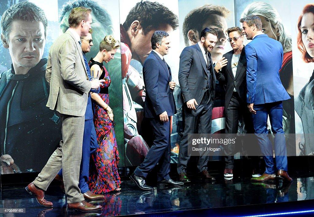 """The Avengers: Age Of Ultron"" - European Premiere - VIP Arrivals : News Photo"