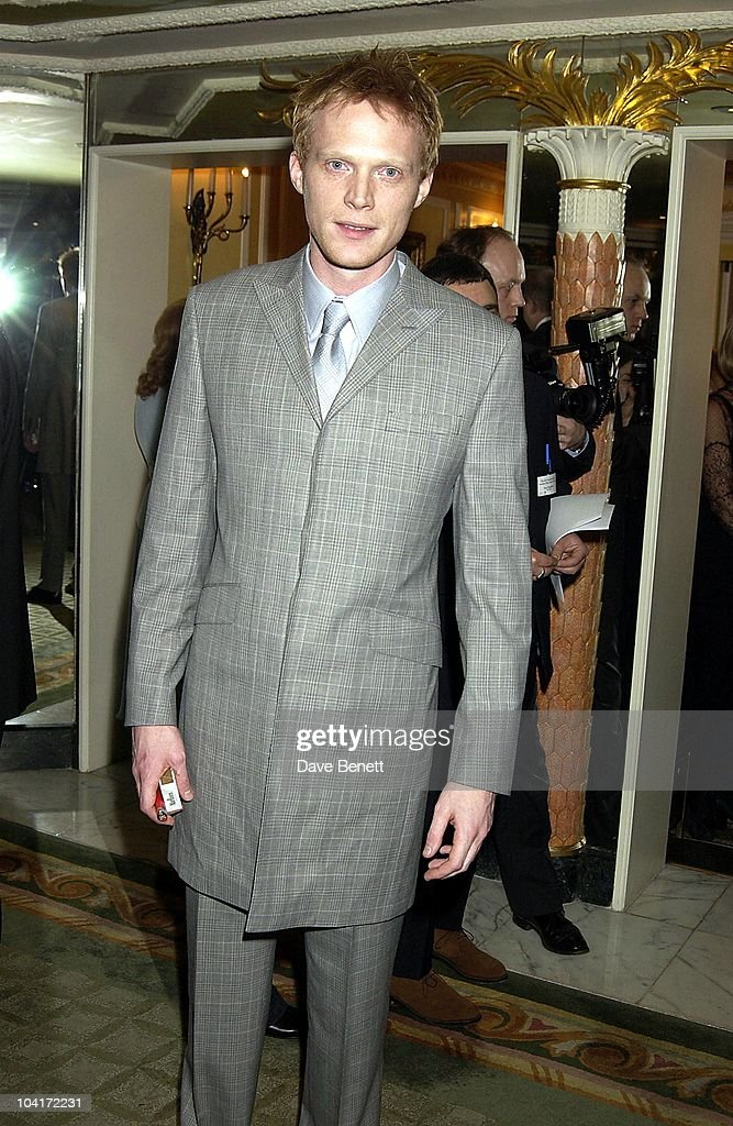 Paul Bettany, London Film Critics Circle Awards 2002, At The Dorchester Hotel, London