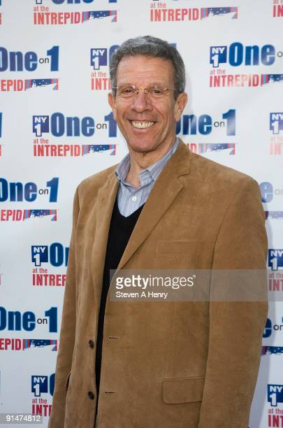 Paul Binder founder of the Big Apple Circus attends One On 1 at the Intrepid on the USS Intrepid on October 5 2009 in New York City