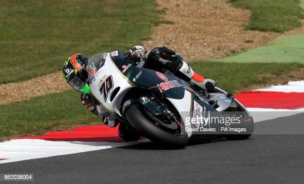 Paul Bird Motorsport's Michael Laverty during the Moto GP Hertz British Grand Prix at Silverstone Northamptonshire PRESS ASSOCIATION Photo Picture...