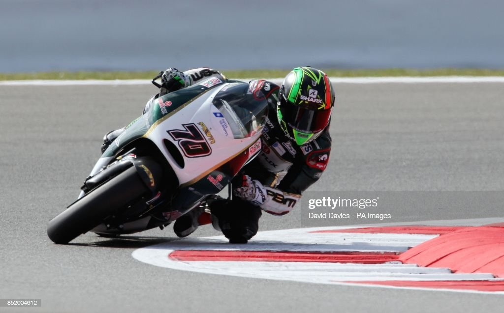 Motor Racing - Moto GP Hertz British Grand Prix - Practice ...