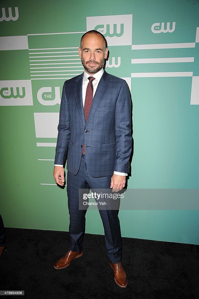 Paul Blackthorne attends The CW Network's New York 2015 Upfront Presentation at The London Hotel on May 14, 2015 in New York City.