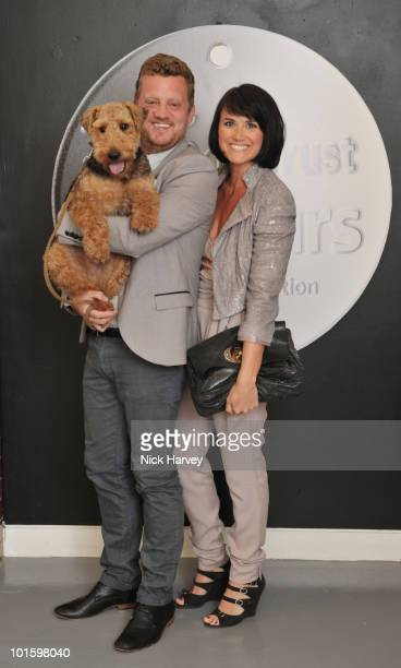 Paul Blair and Dawn Steele attend the Dogs Trust Honours Awards at Jasmine Studios on June 3 2010 in London England