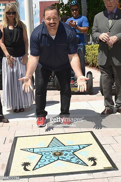 Paul Blart Mall Cop 2 Kevin James Receives Star On Miami Walk Of Fame on April 1 2015 in Miami Florida