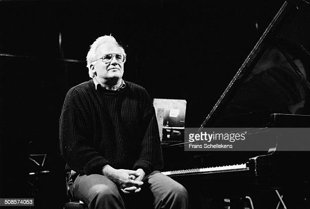 Paul Bley, piano, performs at the BIM Huis on 22nd March 1991 in Amsterdam, Netherlands.