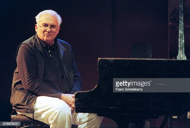 Paul Bley, piano, performs at the BIM huis on April 19th 2001in Amsterdam, Netherlands.