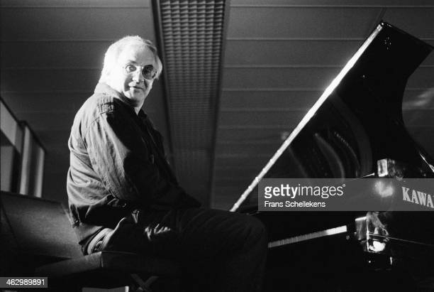 Paul Bley, piano, performs at the North Sea Jazz Festival in the Hague, the Netherlands on 12th July 1990.