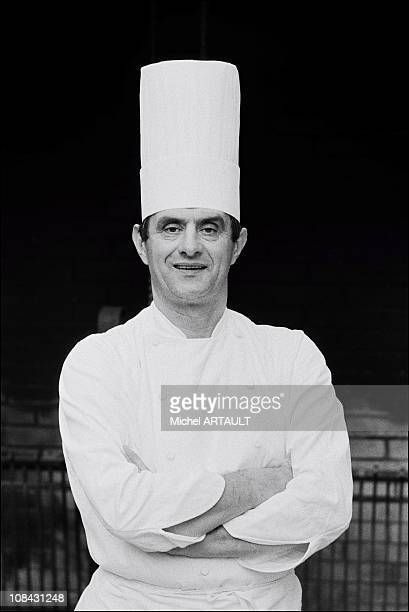 Paul Bocuse during December 1973 in LyonFrance