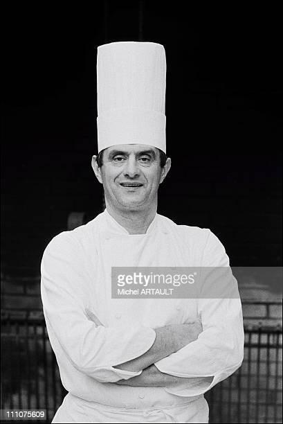 Paul Bocuse in Lyon France in December 1973