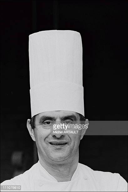Paul Bocuse in Lyon France in December 1973