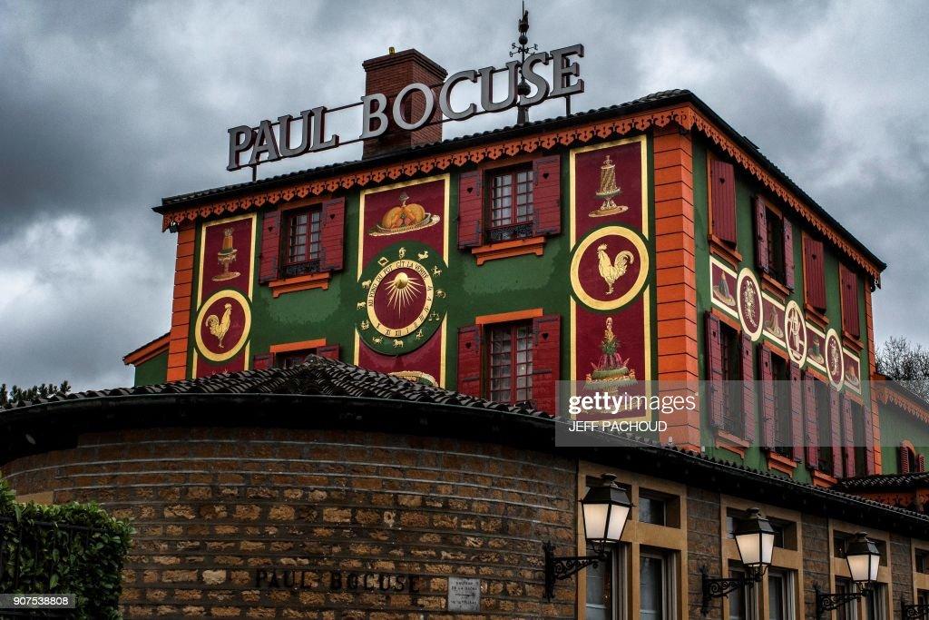 Paul Bocuseu0027s Restaurant U0027Lu0027auberge Du Pont De Collongesu0027 Is Pictured On  January