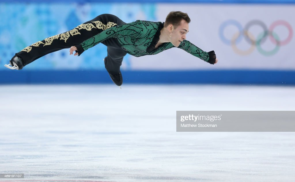 Paul Bonifacio Parkinson of Italy competes during the Men's Figure Skating Short Program on day 6 of the Sochi 2014 Winter Olympics at the at Iceberg Skating Palace on February 13, 2014 in Sochi, Russia.