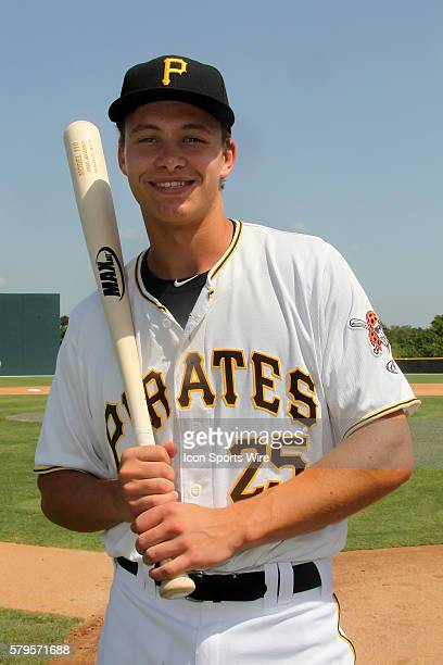 Paul Brands of the Pirates during the Gulf Coast League game between the GCL Braves and the GCL Pirates at Pirate City in Bradenton Florida The...