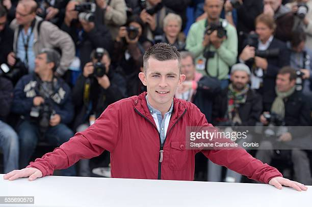 Paul Brannigan at the photo call for The Angel's Share during the 65th Cannes International Film Festival