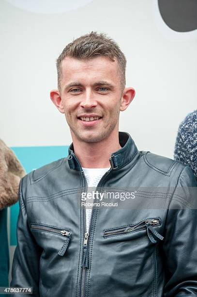 Paul Brannigan attends a photocall for 'Scottish Mussel World Premiere' during the Edinburgh International Film Festival 2015 at Filmhouse on June 26...