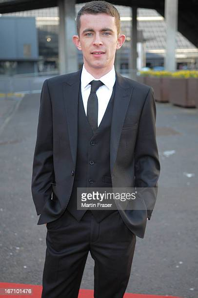 Paul Brannigan attends the Young Scot Awards 2013 at Crowne Plaza on April 19 2013 in Glasgow Scotland