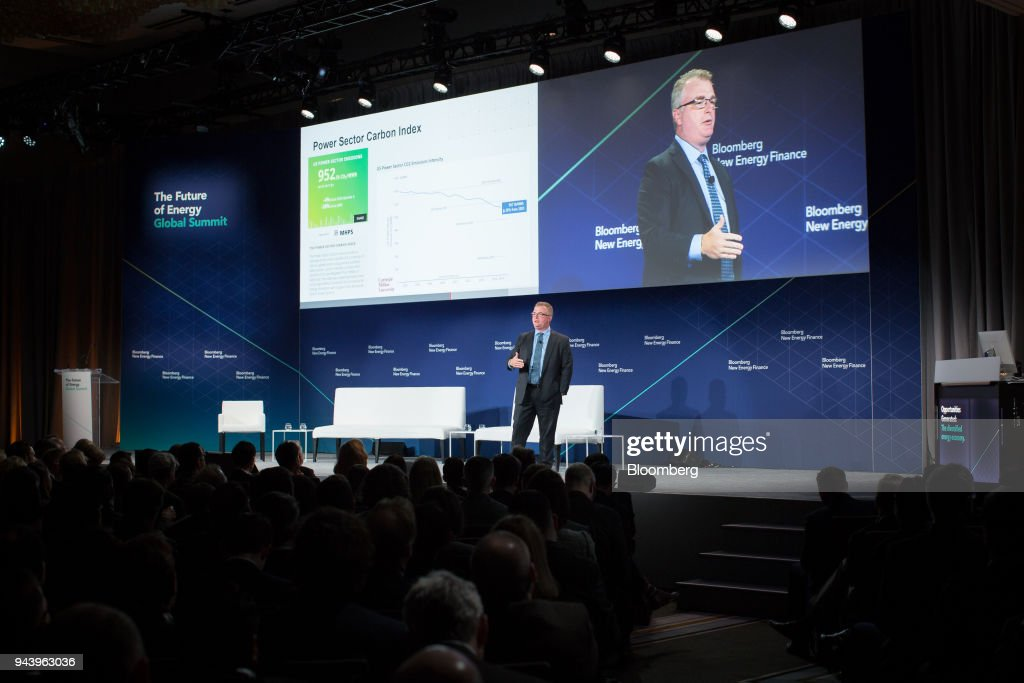 Paul Browning President And Chief Executive Officer Of Mitsubishi Hitachi Power  Systems Americas Inc Speaks During