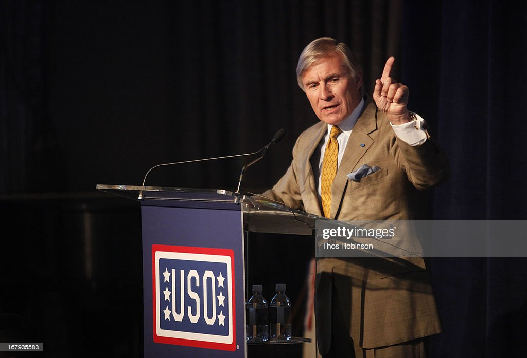 Paul Bucha, medal of honor recipient attends the USO Woman Of The Year Luncheon at The Pierre Hotel on May 2, 2013 in New York City.