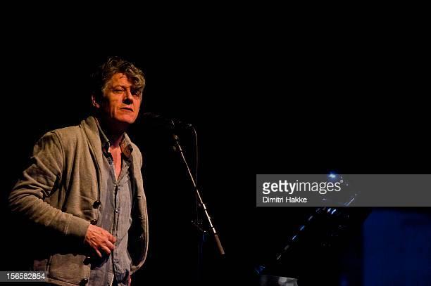 Paul Buchanan performs on stage at Koninklijke Schouwburg for Crossing Border Festival on November 16 2012 in The Hague Netherlands