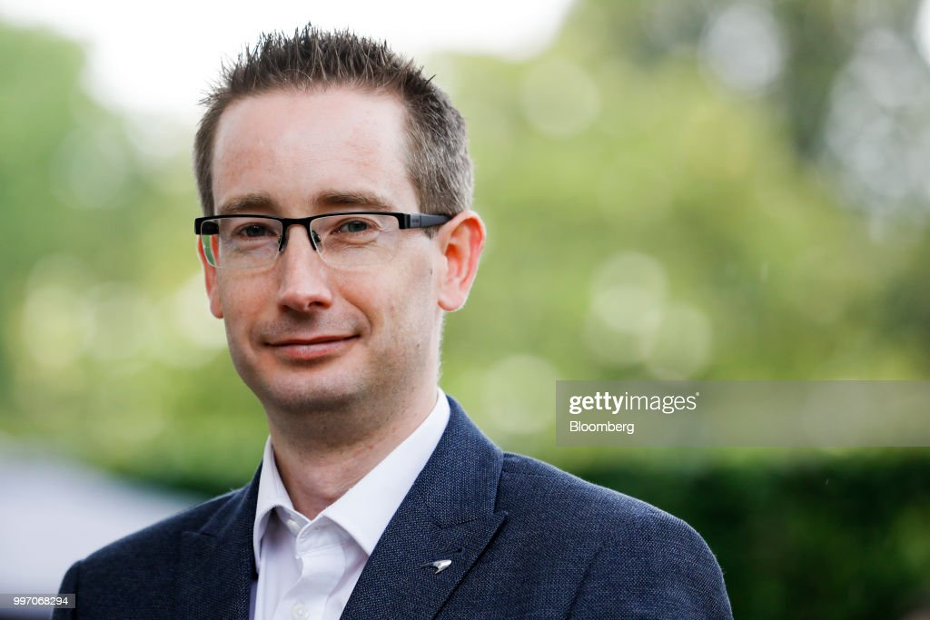 Paul Buddin, chief financial officer of McLaren Automotive Ltd., poses for a photograph at the Goodwood Festival of Speed near Chichester, U.K., on Thursday, July 12, 2018. Formula 1 race team and supercar maker McLaren is aiming to win over wealthy drivers keen to prove themselves on the track with its latest model -- the 185,500-pound ($250,000) circuit-ready 600LT. Photographer: Luke MacGregor/Bloomberg via Getty Images
