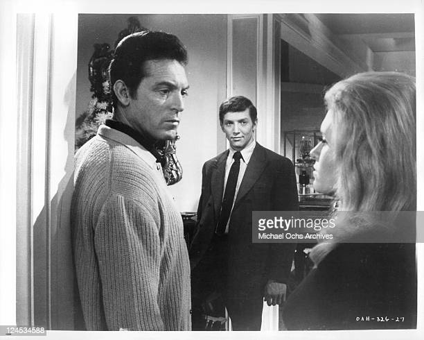 Paul Burke looksback at Carol White in a scene from the film 'Daddy's Gone A Hunting' 1969