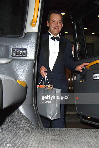 Paul Burrell during 2005 TV Quick & TV Choice Awards - After Party at The Dorchester in London, Great Britain.