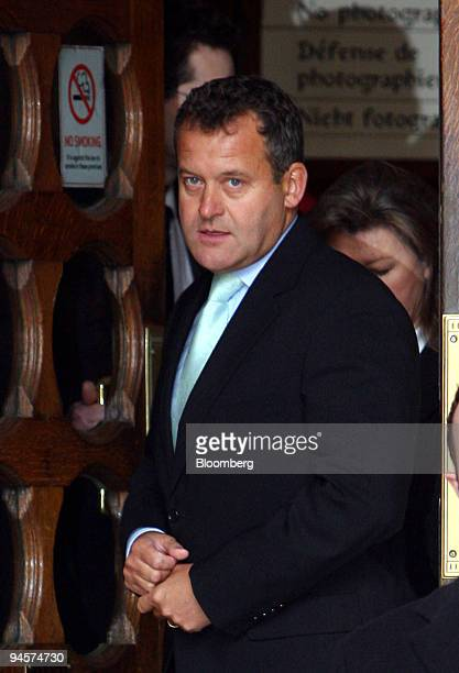 Paul Burrell former butler to Diana Princess of Wales leaves the High Court in London UK on Monday Jan 14 2008 Diana planned secretly to marry Hasnat...