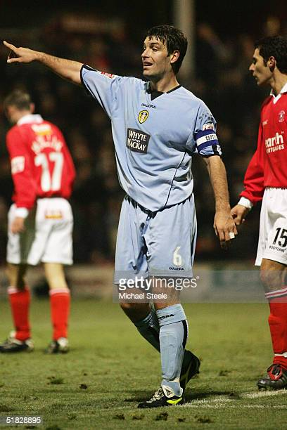 Paul Butler of Leeds United in action during the Coca Cola Championship match between Rotherham United and Leeds United at Millmoor on November 29...