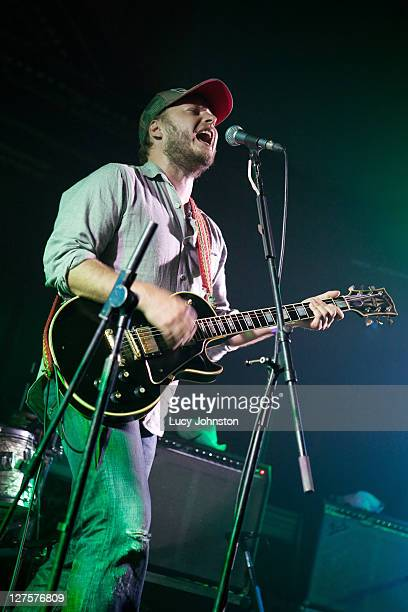Paul Butler of The Bees performs at St James' Church on September 29 2011 in London United Kingdom