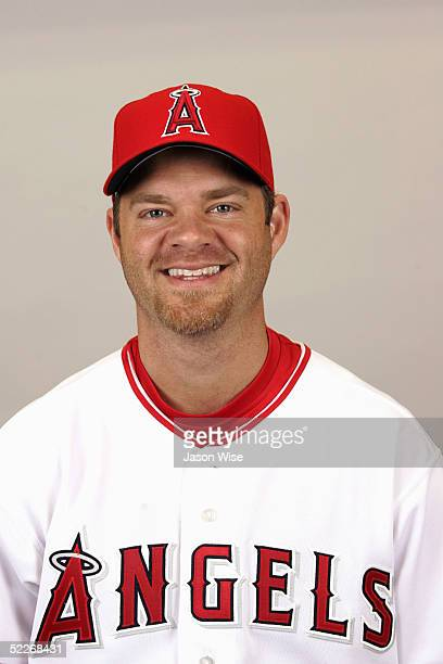 Paul Byrd of the Los Angeles Angels of Anaheim poses for a portrait during photo day at Tempe Diablo Stadium on February 24 2005 in Tempe Arizona