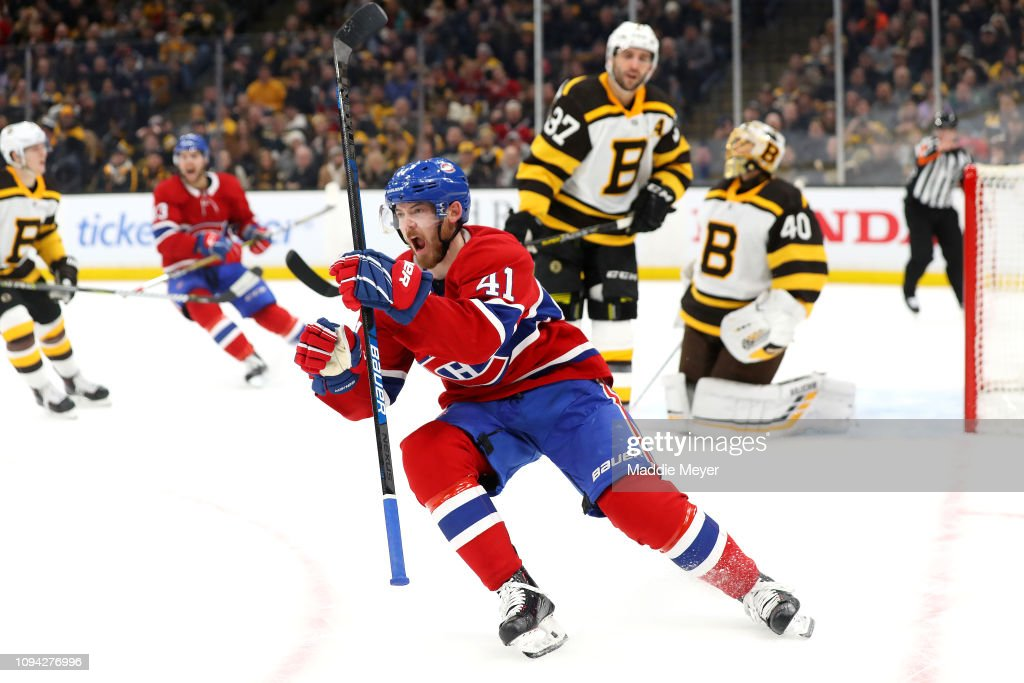 Montreal Canadiens v Boston Bruins : News Photo