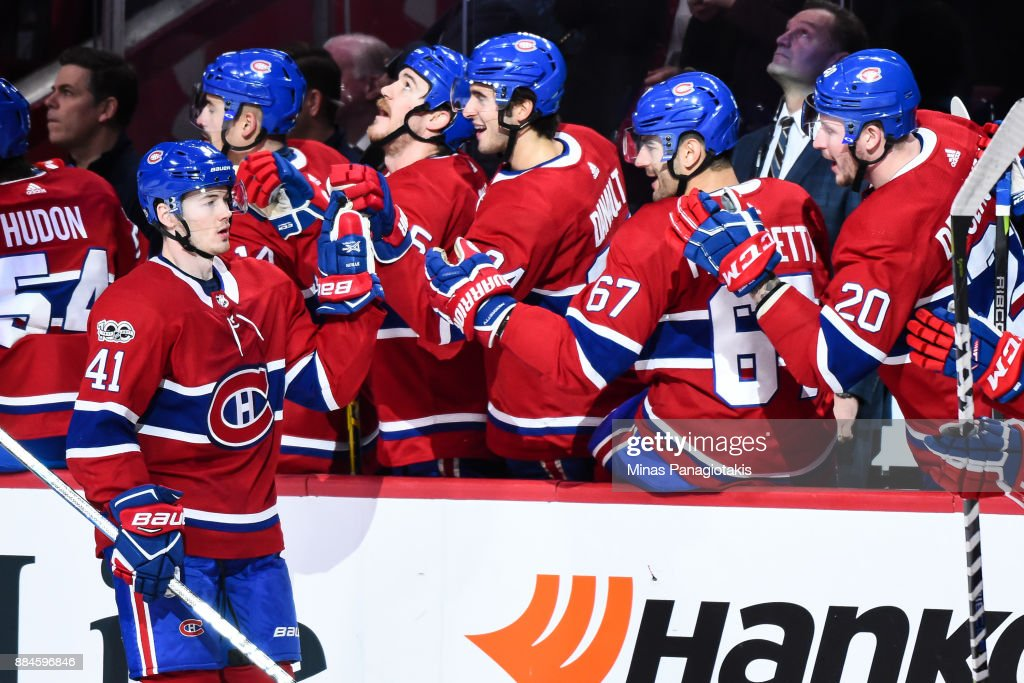 Detroit Red Wings v Montreal Canadiens : News Photo