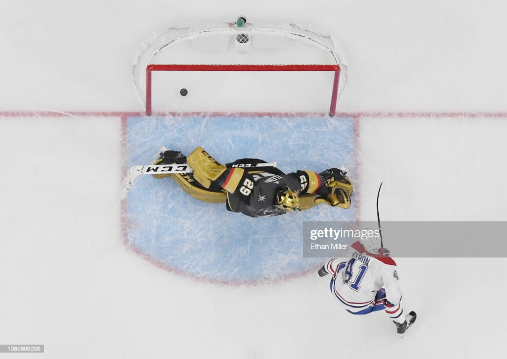 Montreal Canadiens v Vegas Golden Knights : News Photo