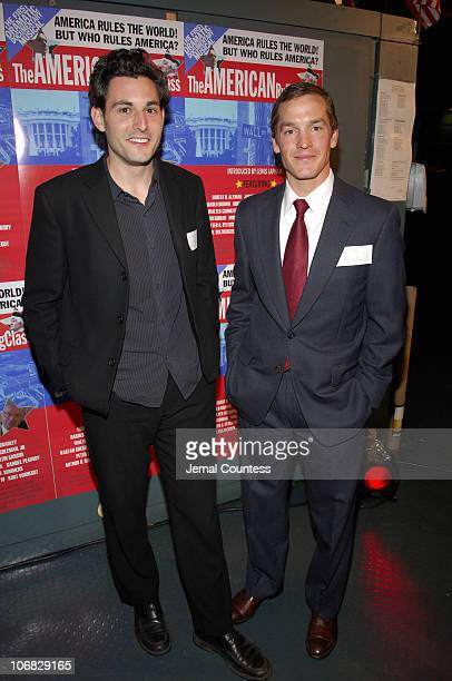 Paul Cantagallo and Caton Burwell during 4th Annual Tribeca Film Festival The American Ruling Class Premiere After Party at The New York Mercantile...