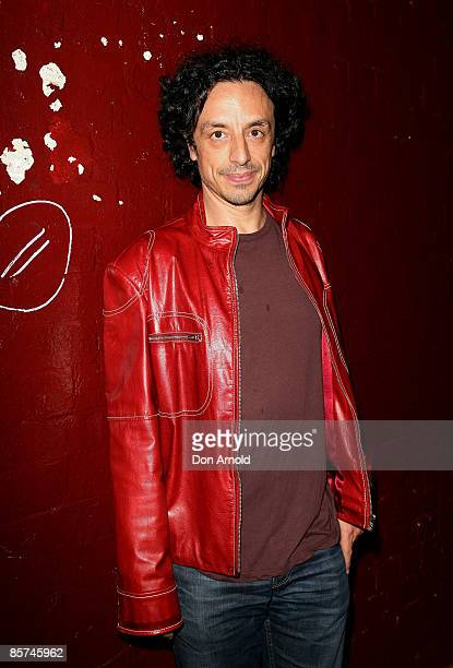 Paul Capsis arrives for the premiere of `The Man from Mukinupin' at the Belvoir Street Theatre on April 1 2009 in Sydney Australia