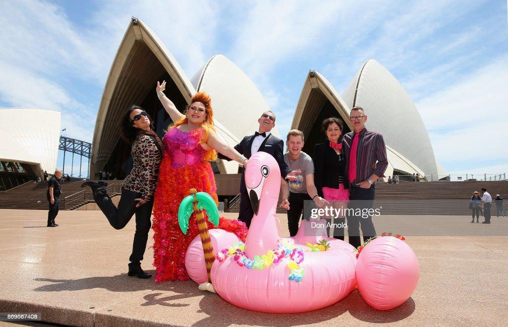 Sydney Gay and Lesbian Mardi Gras 40th Anniversary Program Launch