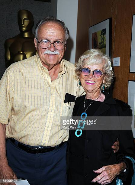 Paul Carlson and Anne Guenther attend the AMPAS Gold Standard Screening Series Of 'Sleeping Beauty' on July 18 2008 in Beverly Hills California