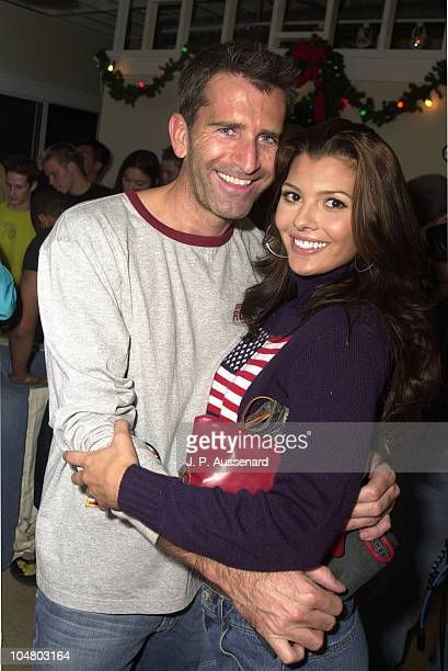 Paul Cartwright Ali Landry during American Eagle Outfitters Customization Workshop at American Eagle Outfitters Showroom in Los Angeles California...