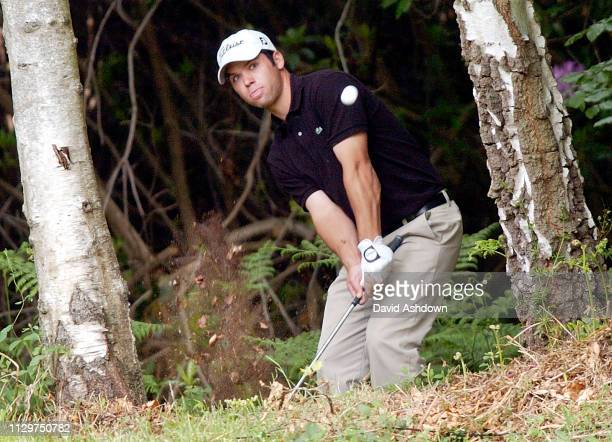 Paul Casey during the Golf Voilvo PGA champioship at Wentworth GC in England 28th May 2004.