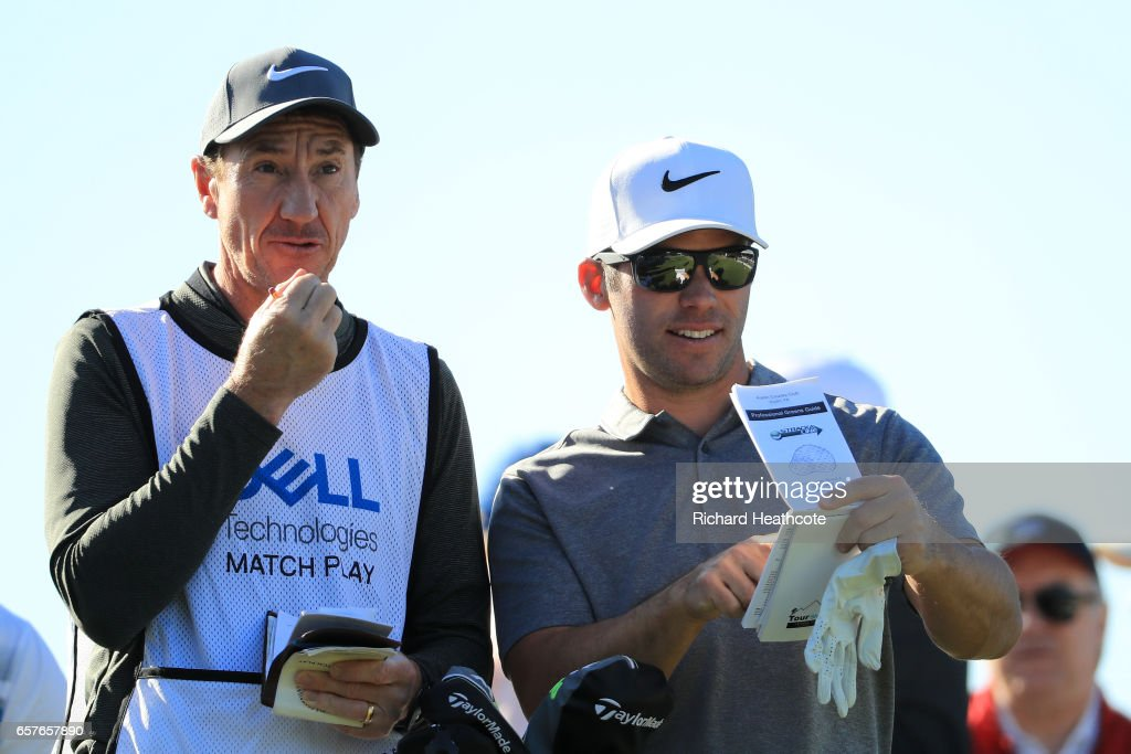 World Golf Championships-Dell Match Play - Round Four : News Photo