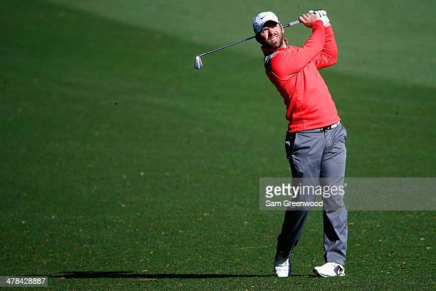 Paul Casey of England hits a shot on the 10th fareway during the first round of the Valspar Championship at Innisbrook Resort and Golf Club on March...