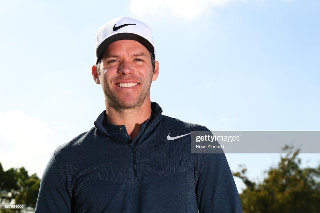 Paul Casey of England poses for a portrait at Sheshan International Golf Club on October 30, 2017 in Shanghai, China.
