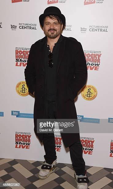 Paul Cattermole attends the after party following the gala charity performance of 'Rocky Horror Show' at Picturehouse Central on September 17 2015 in...