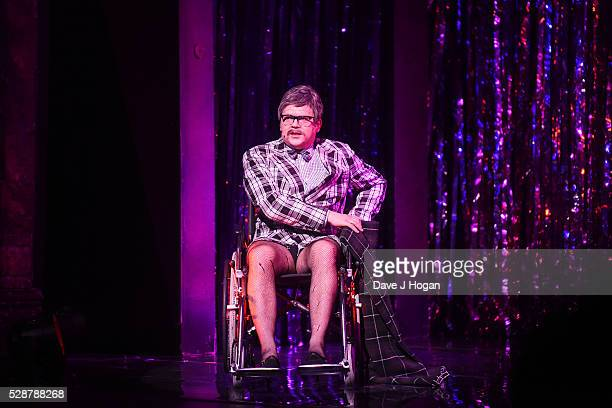 Paul Cattermole performs as a cast member of 'The Rocky Horror Show' tour at Richmond Theatre on May 6 2016 in Richmond England